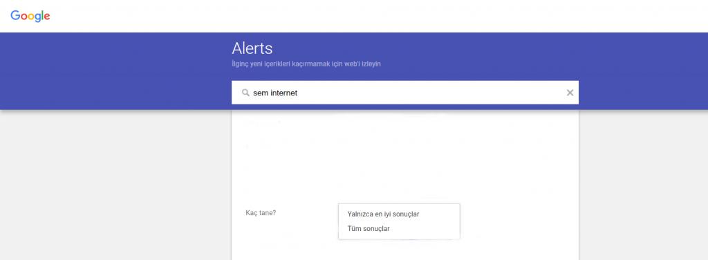 Google Alerts Avantajları